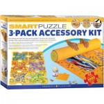 Eurographics-8955-0107 Smart-Puzzle 3-Pack Accessory Kita